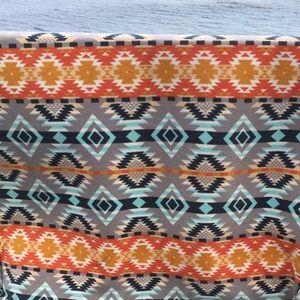 Navajo Design Baby Blanket